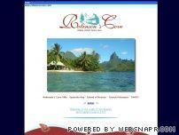 Beach Villa in Moorea island
