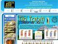 Tiki - Idée cadeau original : le Tiki, un bijou de tahiti en or ou argent et corail noir
