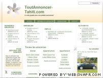 Petites Annonces Gratuites et Performantes | Immobilier | Auto | Emploi | Services | Tahiti